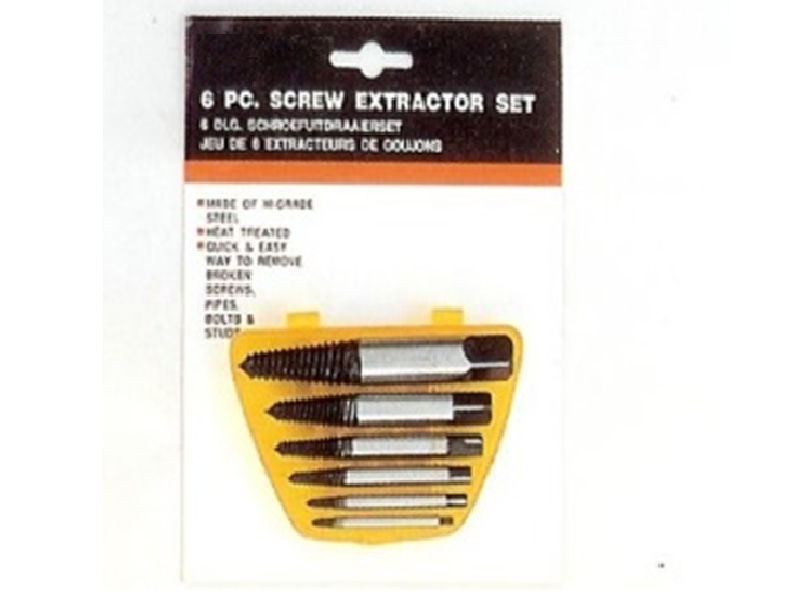 6PCS SCREW EXTRACTOR SET