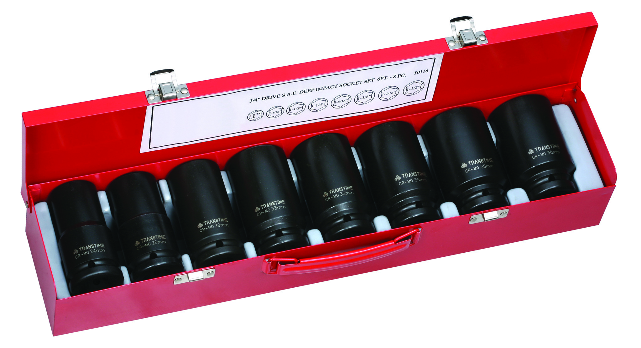 "3/4""DRIVE IMPACT SOCKET SETS"
