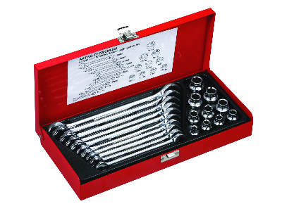 21 PCS 72 TOOTH GEAR WRENCH SET